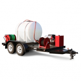 Gas Cold Jetter Trailer