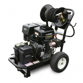 Spraz-All Gas Cold, Lifan, Electric Start with Hose Reel 4G at 4000PSI